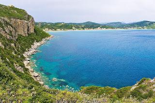 Agios Georgios wybrzeże