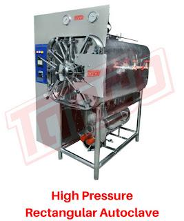 Tanco High Pressure Rectangular Autoclave