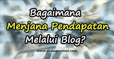 buat, jana,duit, online, blog