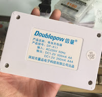 Doublepow DP-K11 4 Slots Ni-MH/NI-CD Intelligent Rapid Batteries Charger