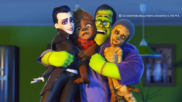 Cinema - Monster Family - Recensione, cartone animato, cartoon