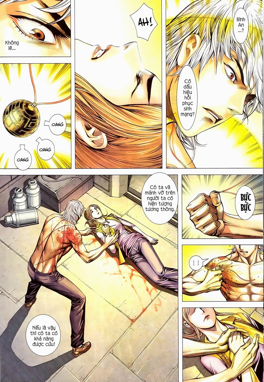Đại Quân Phiệt chap 14 trang 13