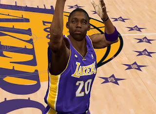 NBA 2K13 Lakers Jodie Meeks Cyber Face Mods