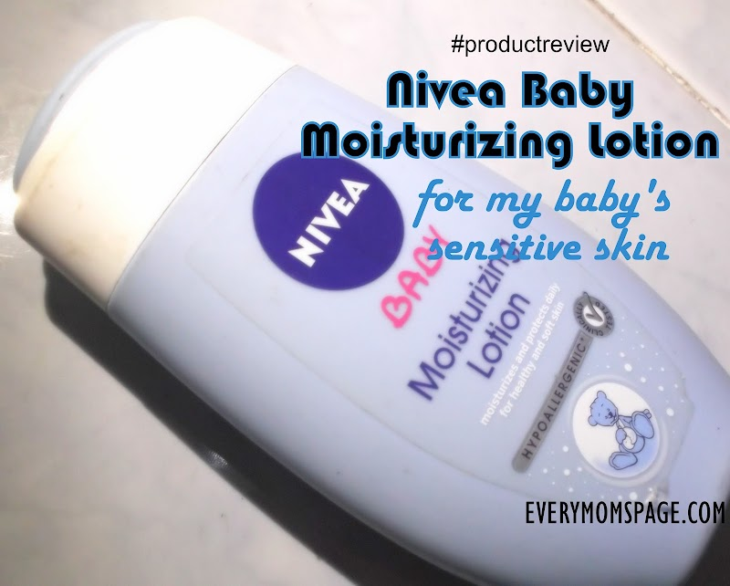 Nivea Baby Moisturizing Lotion #ProductReview