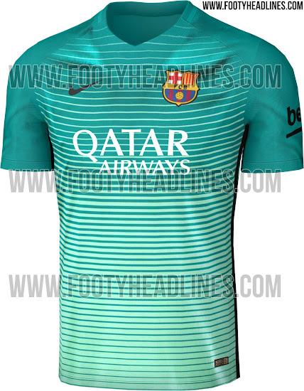 8735e7496a Nike vestirá de verde al FC Barcelona 2016 17 en la Champions