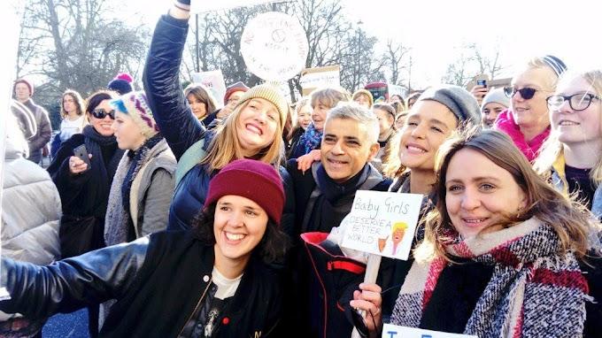 Кметът на Лондон се присъедини към протестите срещу президента Тръмп