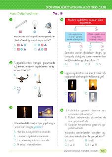 3. Sınıf İngilizce Ders Kitabı Cevapları Monopol Yayınları Sayfa 105