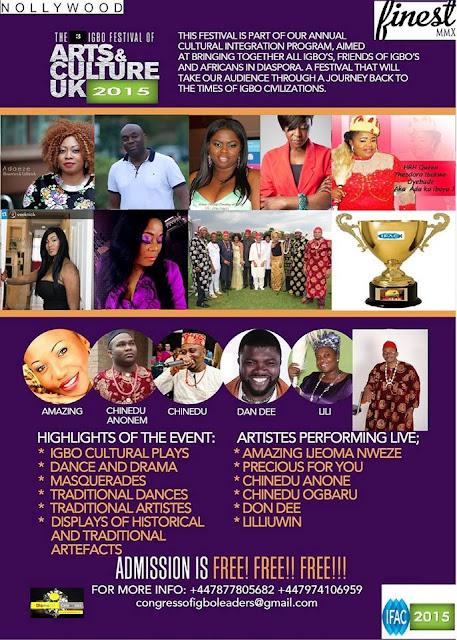 Igbo Festival of cultural arts UK 2015