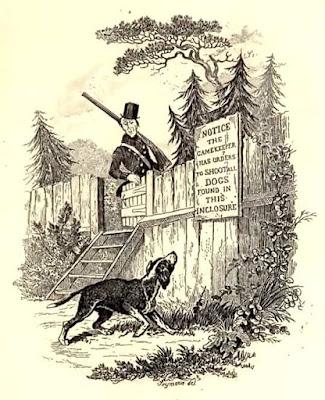 The Sagacious Dog_robert seymour 1836 pickwick paper