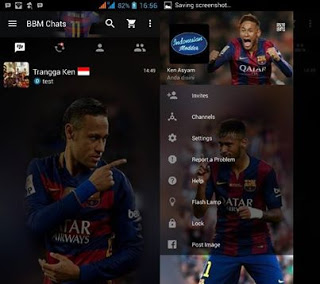 Download BBM Mod Neymar