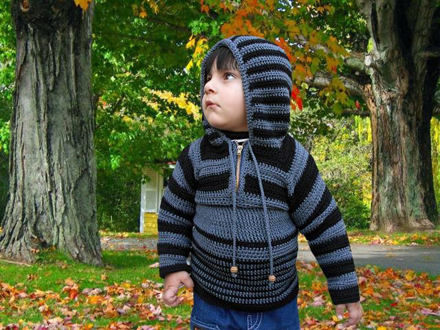 Boy Hooded Sweater