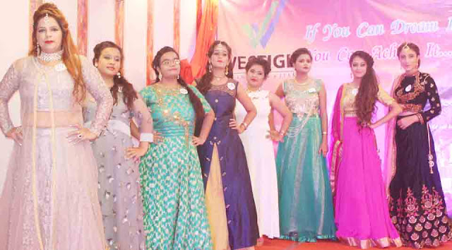 Women from all walks of life in the fashion show in Faridabad
