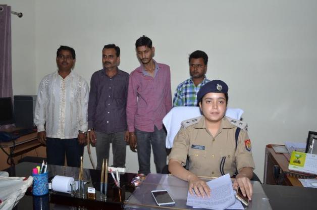 IPL क्रिकेट मैच में सट्टा लगाने वाले 4 गिरफ्तार