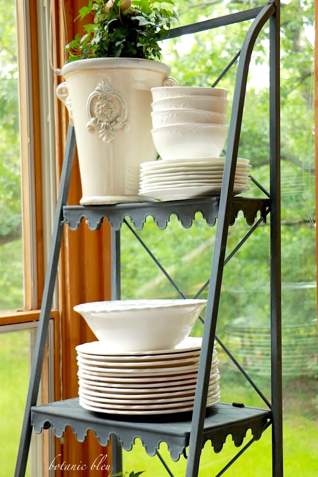 white-dishes-on-zinc-french-style-shelves-add-fresh-spring-looks