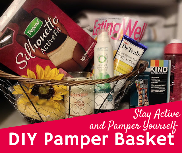 Pamper yourself with these easy ideas and Depend Silhouette Active Fit #activefitforme [ad]