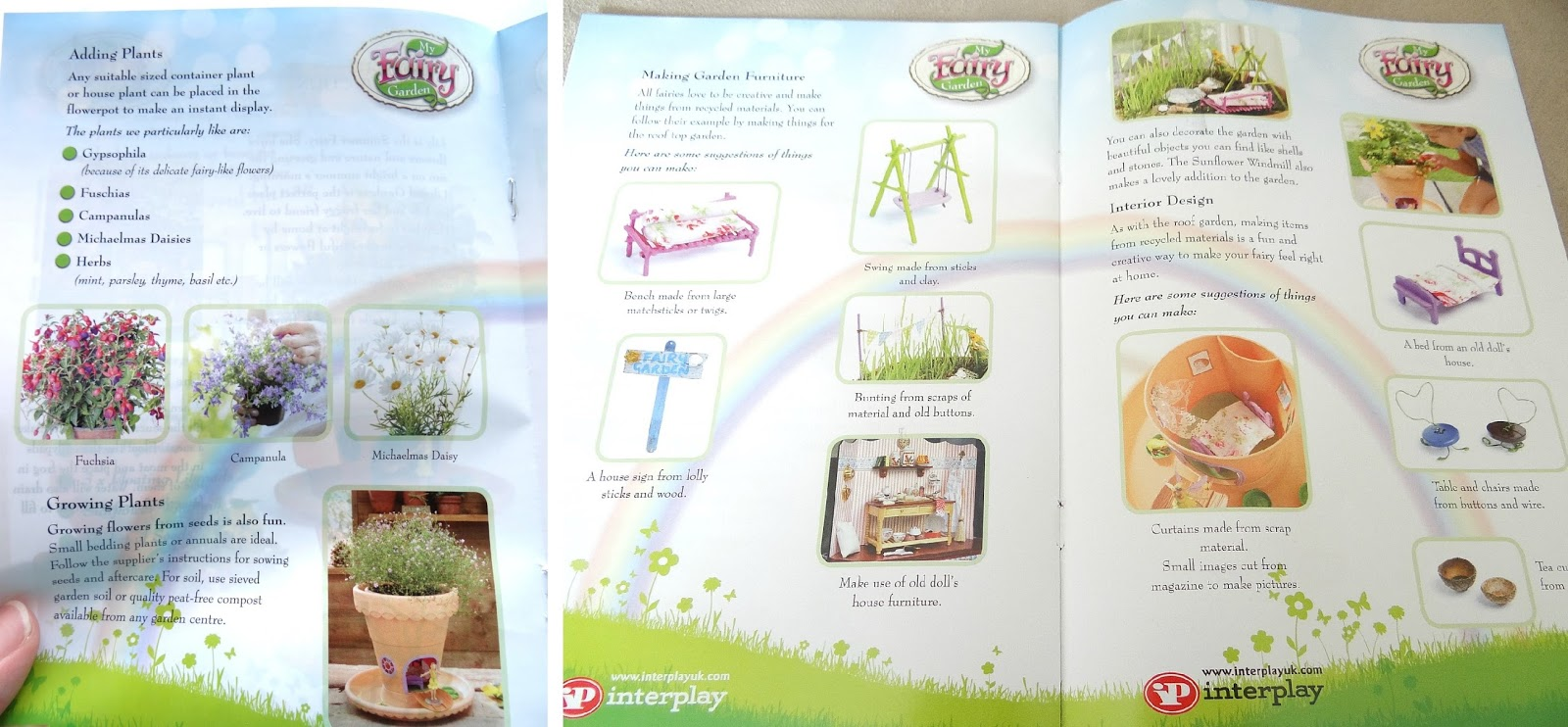 Fairy play, Interplay My Fairy Garden, gardening for kids