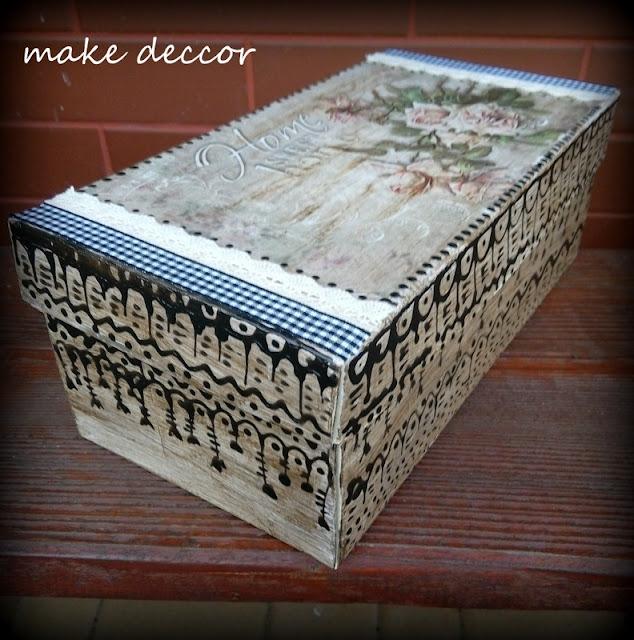 Drugie życie pudełka po butach:)))