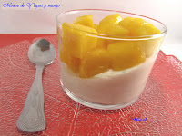 Mousse de Yogurt y Mango