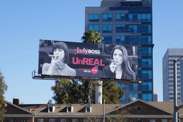 UnREAL season 3 Lady boss billboard