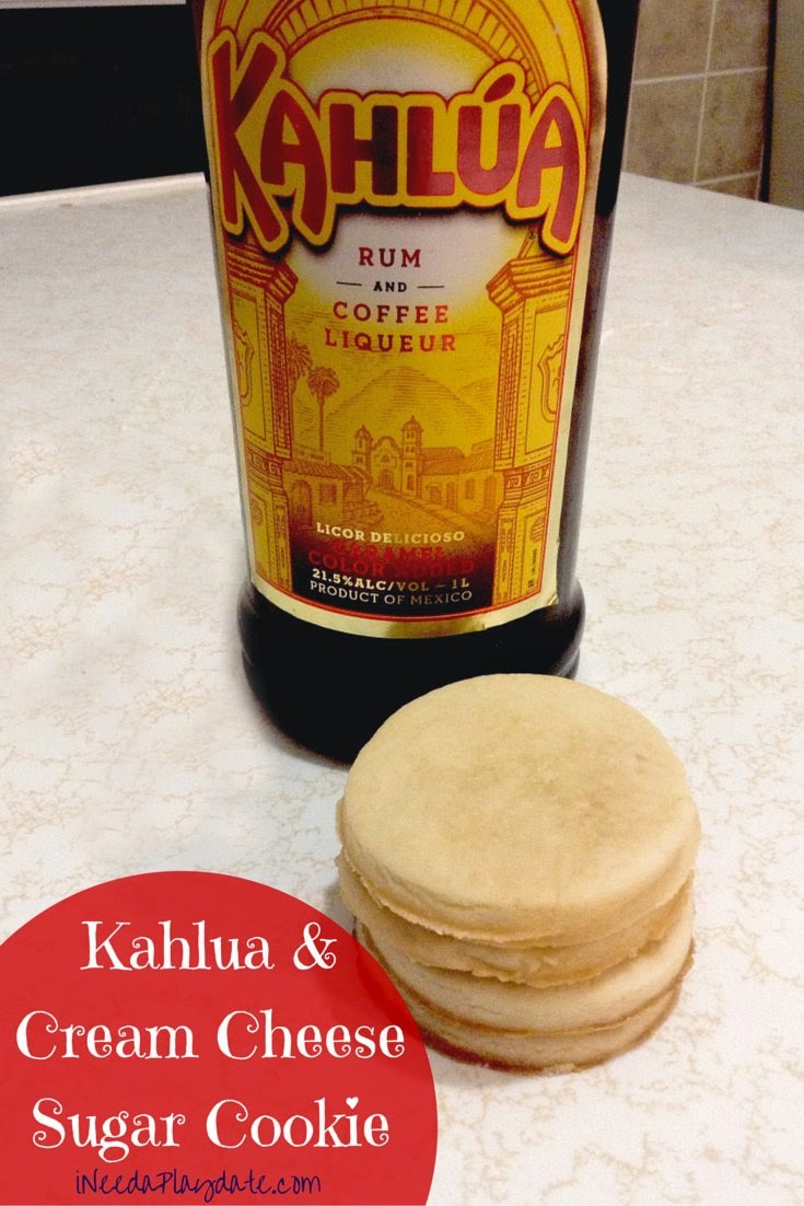 Kahlua and Cream Cheese Sugar Cookie Recipe @MryJhnsn
