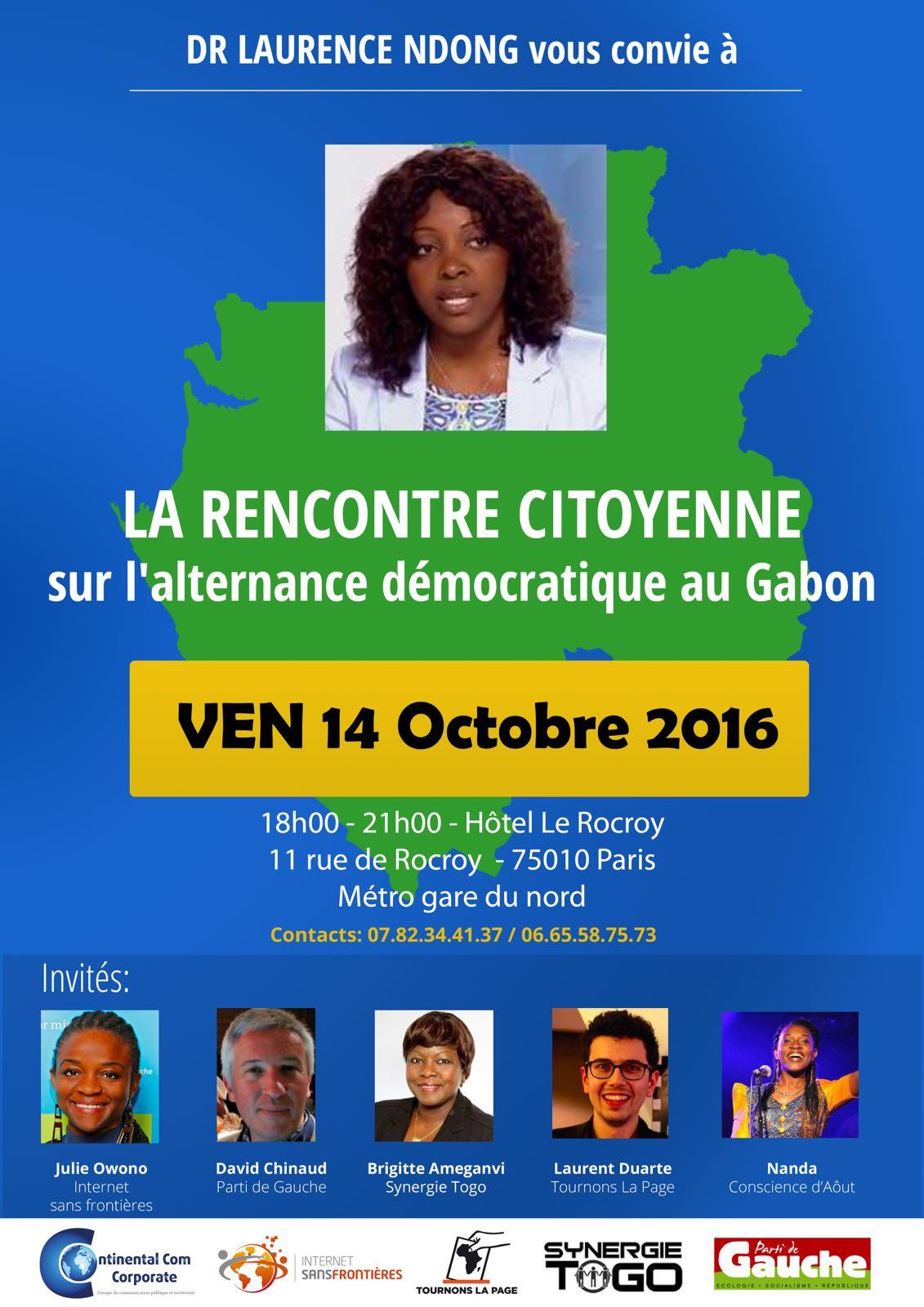 site web de rencontre gabonais rencontre femme celibataire clermont ferrand