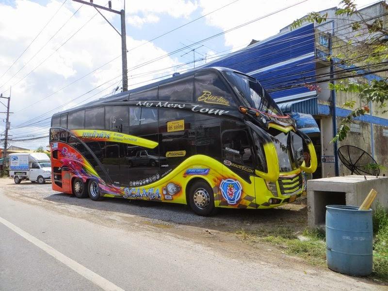 Тюнинг автобуса Таиланд