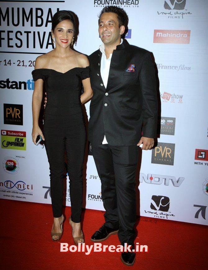 Tara Sharma, Roopak Saluja, Mumbai Film Festival 2014 Photos