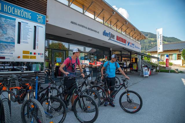 E-Bike Tour zum Statzer-Haus auf dem Hundstein  Region Hochkönig 02