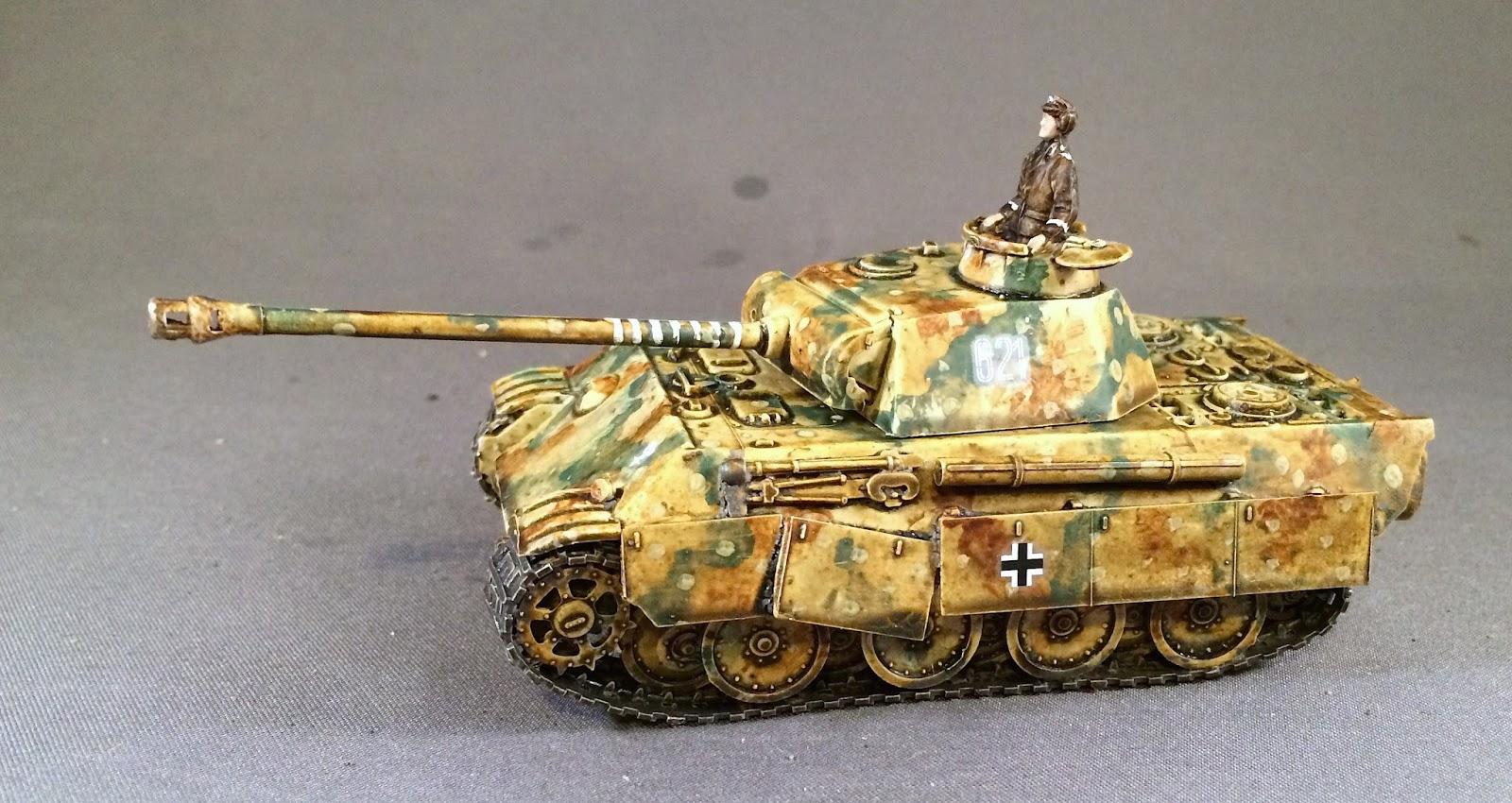 Bob's Miniature Wargaming Blog: Some WW2 tanks