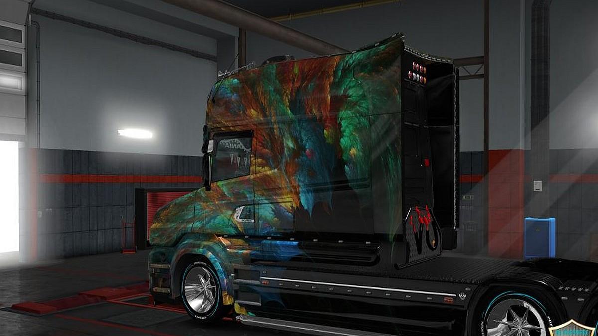 Scania T Longline Vetv Skin
