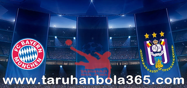 Prediksi Taruhan Bola 365 - Bayern Munchen vs Anderlecht