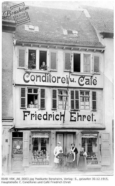 BIAB HRK_AK_0003.jpg Conditorei und Café Ehret, Bensheim, Hauptstraße 7, zur Verfügung gestellt durch Herrn Kühnreich
