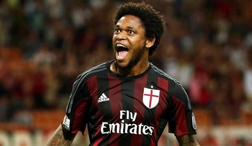 Luiz Adriano được chiêu mộ thành công vào đội hình Milan.