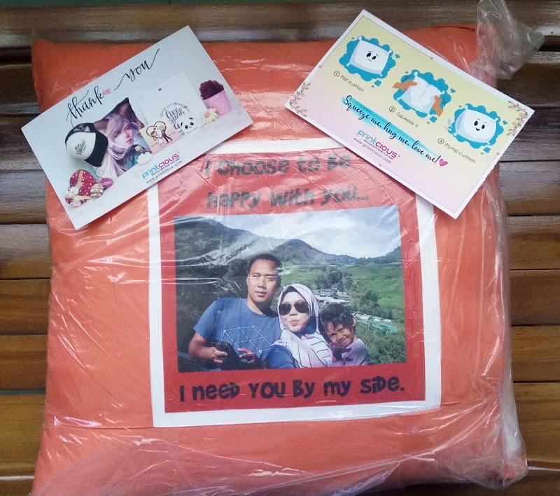 Abadikan Kenangan Dengan Pillow Cushion Hanya Di Printcious
