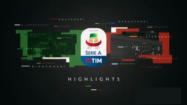 Serie A Highlights – Week 2 - 27 - August-2018