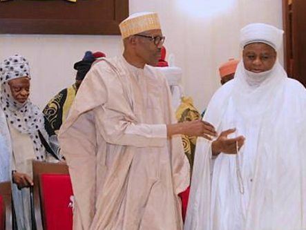Buhari Meets With Royal Fathers