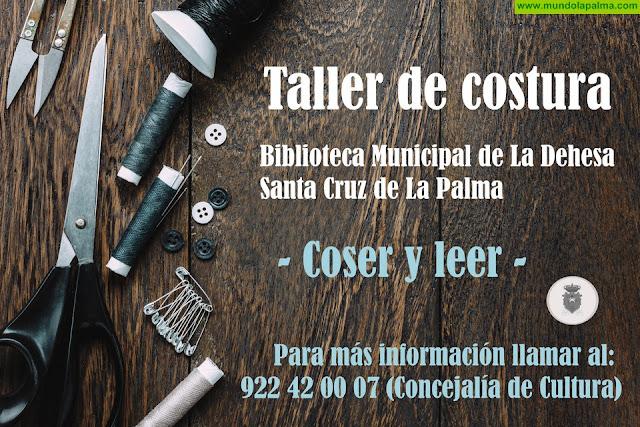 """La Biblioteca La Dehesa inicia un taller de costura dentro del Proyecto """"Coser y leer"""""""