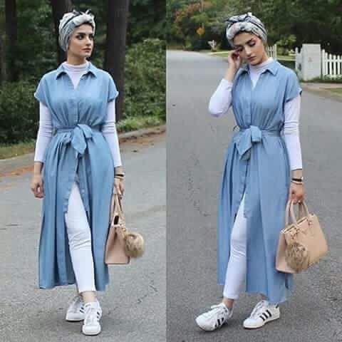 أجمل كولكشن ملابس محجبات كاجوال لصيف وربيع لعام 2019