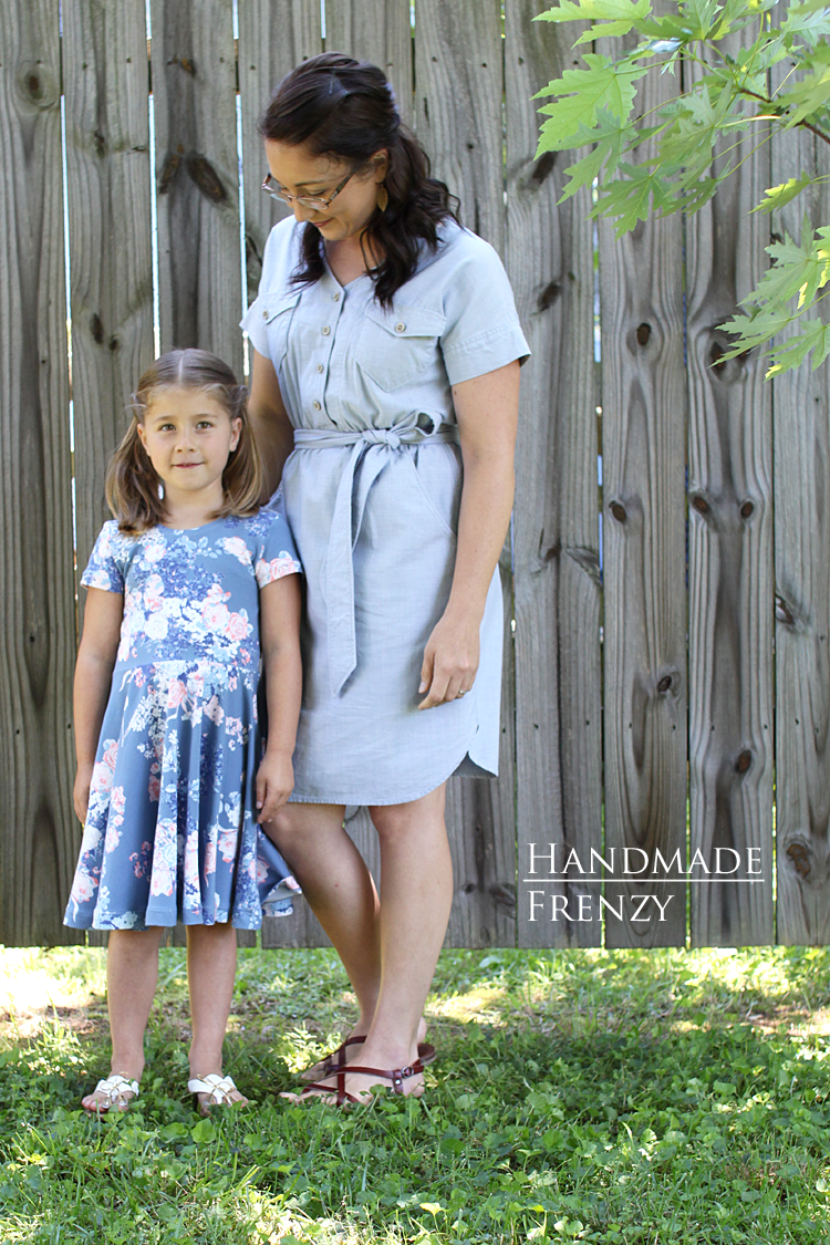 Anza Dress & Janie Dress // Pattern Review