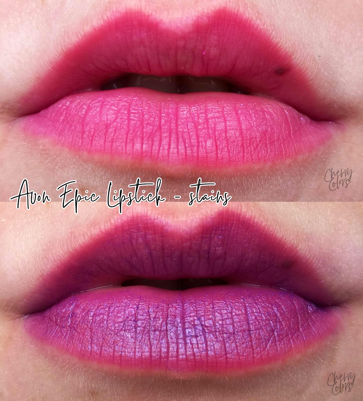 Avon epic lipstick stain