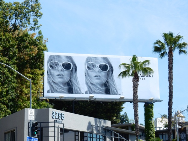 Saint Laurent sunglasses S16 billboard