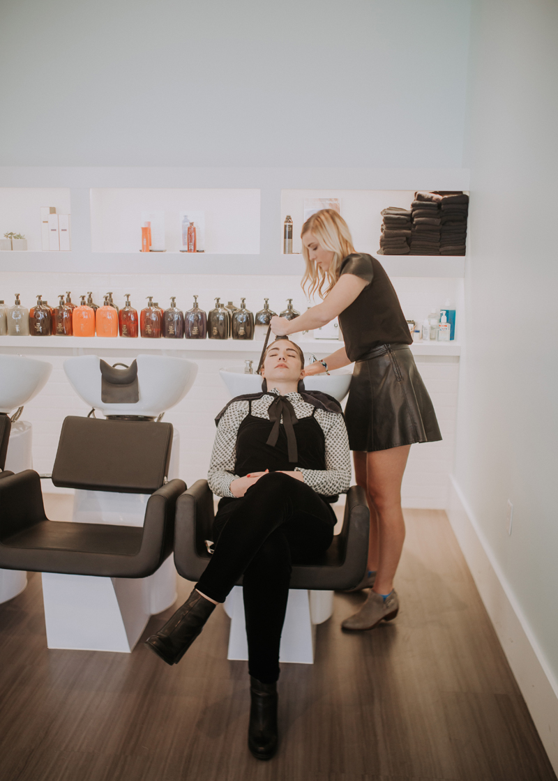 scalp treatment, hair wash, salon near me