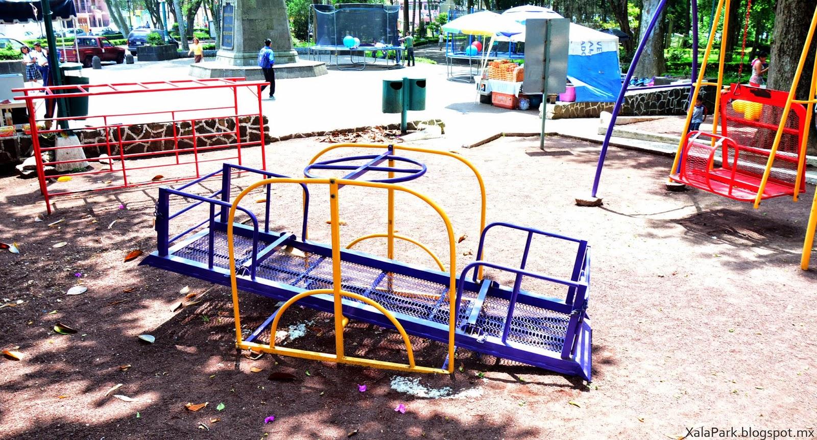Juegos Infantiles Para Ninos Con Discapacidad Parque Los Berros
