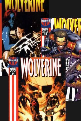 House of M: Wolverine #33 - #35 PDF