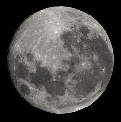 Lua, Diâmetro e Massa da Lua