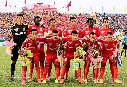 Câu lạc bộ bóng đá Becamex Bình Dương là một trong những câu lạc bộ bóng đá chuyên nghiệp