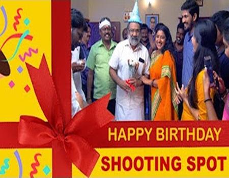 A Surprise for Krishnan | Tamil Serial Shooting Spot