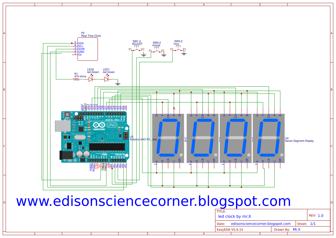 EDISON SCIENCE CORNER: how to make arduino led desktop clock on alphanumeric display schematic diagram, up down counter circuit diagram, 7 segment display dimensions, shematic of 7 segment display diagram, multi-line led display diagram, 7 segment display installation, 7 segment display pin configuration, 7 segment display logic diagram, 7 segment display circuit, 7 segment display relay, 7 segment display truth table, 7-segment counter circuit diagram, decimal value in a diagram, 7 segment display datasheet, d 7-segment logic output diagram, 7 segment display power,