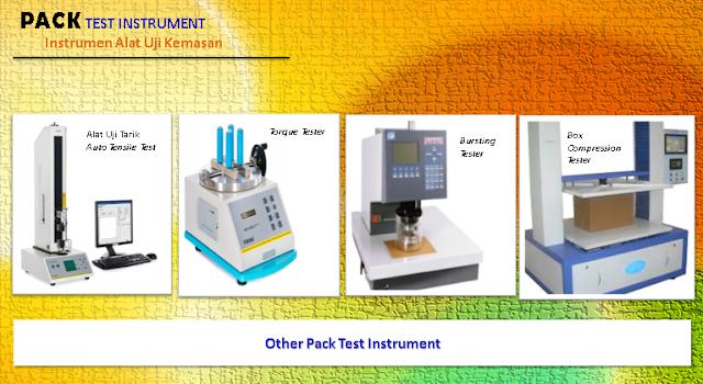 banner pack test instrumen