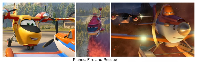 "New Planes: Fire and Rescue Trailer: ""Courage"""